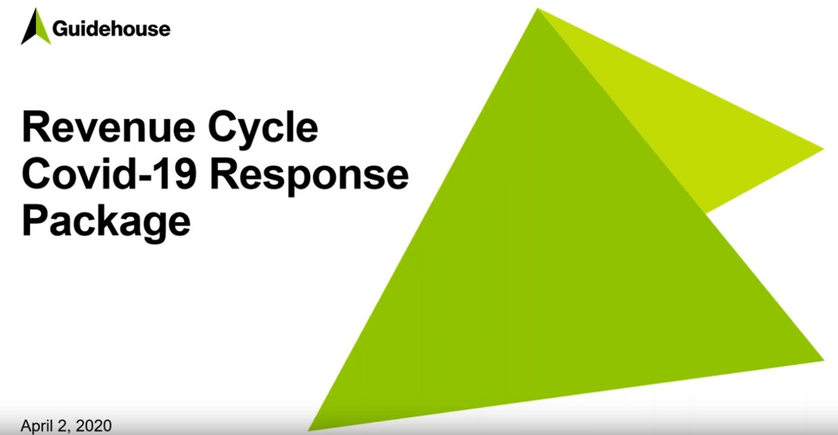 Revenue Cycle Covid Response